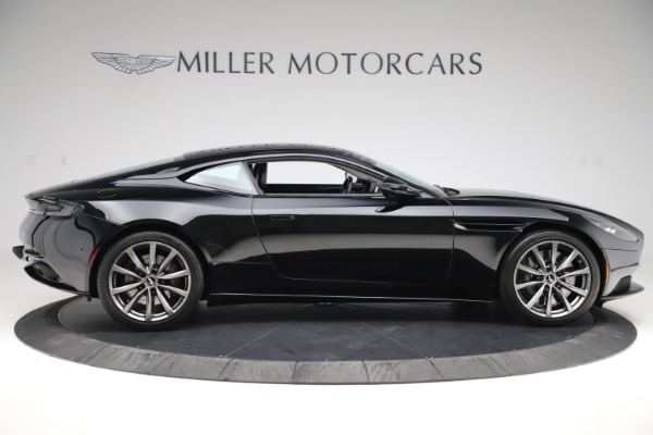 Used 2018 Aston Martin DB11 V8 for sale $145,900 at Alfa Romeo of Greenwich in Greenwich CT 06830 8