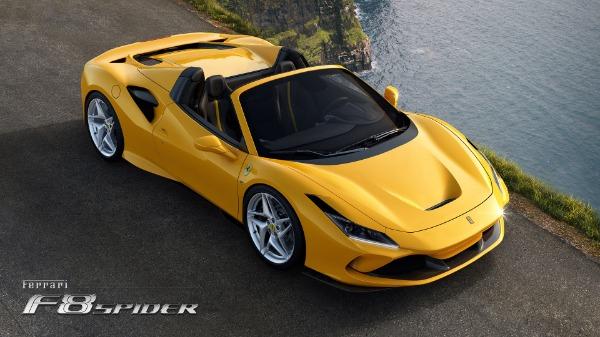 New 2021 Ferrari F8 Spider for sale Call for price at Alfa Romeo of Greenwich in Greenwich CT 06830 3
