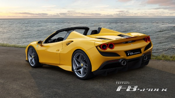 New 2021 Ferrari F8 Spider for sale Call for price at Alfa Romeo of Greenwich in Greenwich CT 06830 4