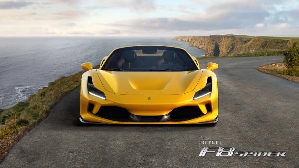New 2021 Ferrari F8 Spider for sale Call for price at Alfa Romeo of Greenwich in Greenwich CT 06830 5