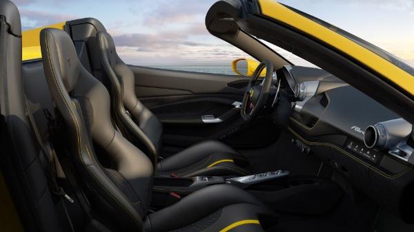 New 2021 Ferrari F8 Spider for sale Call for price at Alfa Romeo of Greenwich in Greenwich CT 06830 7