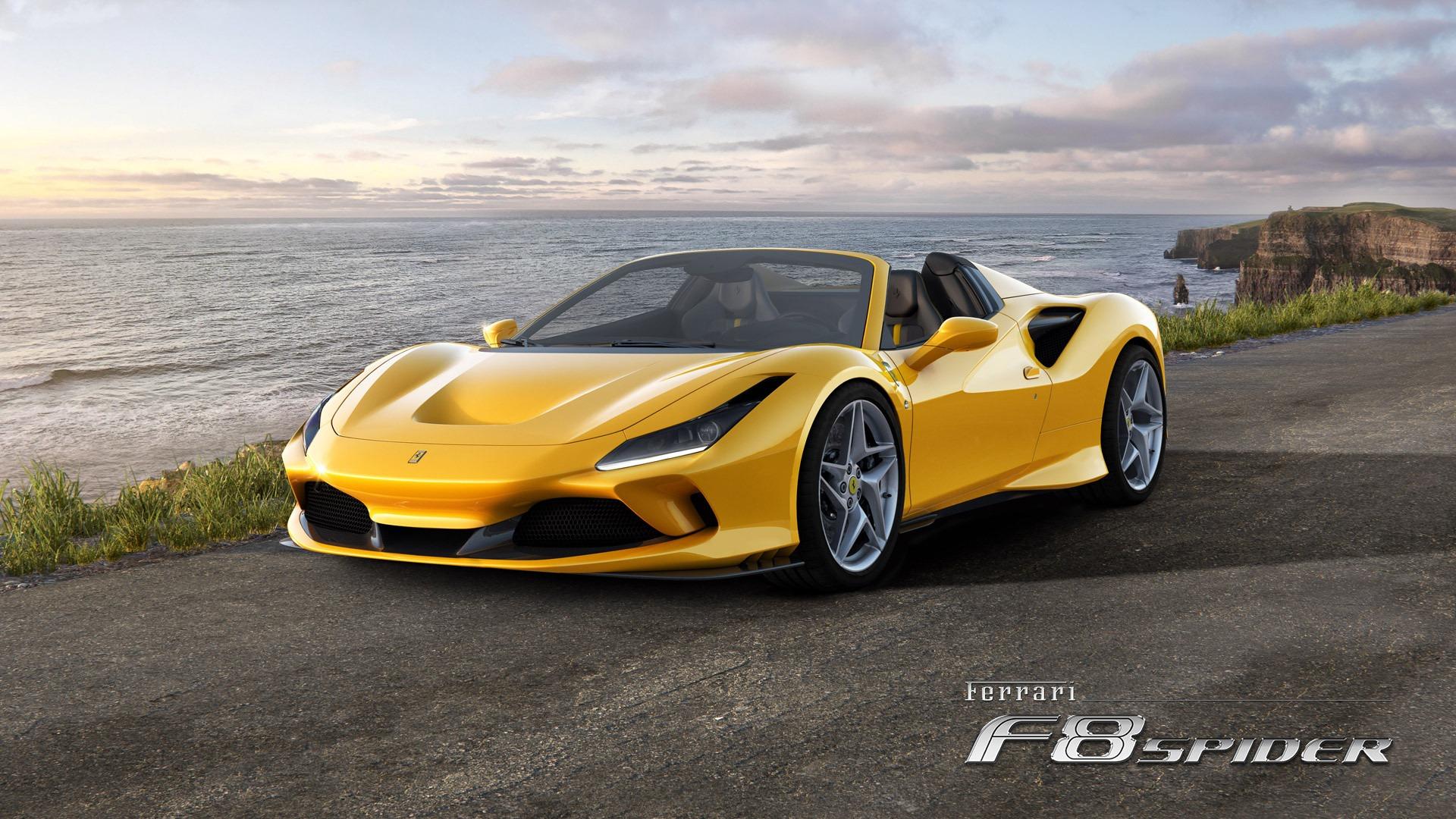 New 2021 Ferrari F8 Spider for sale Call for price at Alfa Romeo of Greenwich in Greenwich CT 06830 1
