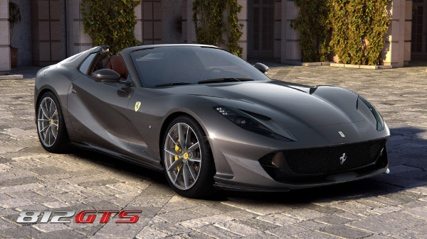 New 2021 Ferrari 812GTS for sale Call for price at Alfa Romeo of Greenwich in Greenwich CT 06830 2