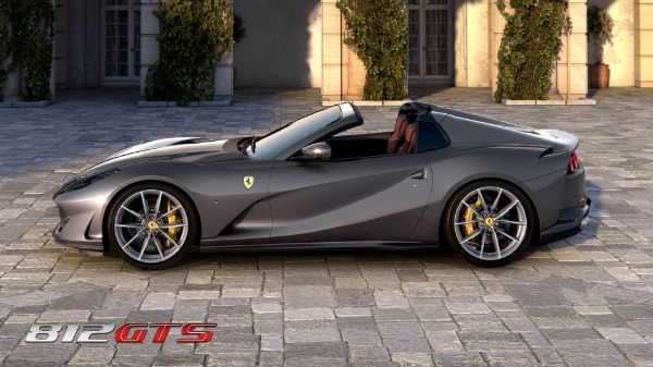 New 2021 Ferrari 812GTS for sale Call for price at Alfa Romeo of Greenwich in Greenwich CT 06830 3