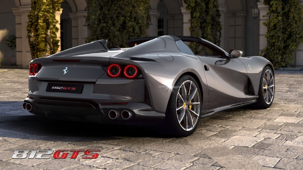 New 2021 Ferrari 812GTS for sale Call for price at Alfa Romeo of Greenwich in Greenwich CT 06830 5