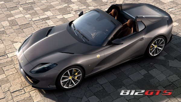 New 2021 Ferrari 812GTS for sale Call for price at Alfa Romeo of Greenwich in Greenwich CT 06830 1