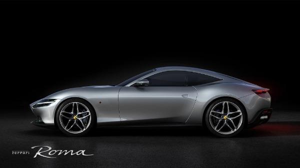 New 2021 Ferrari Roma for sale Call for price at Alfa Romeo of Greenwich in Greenwich CT 06830 2