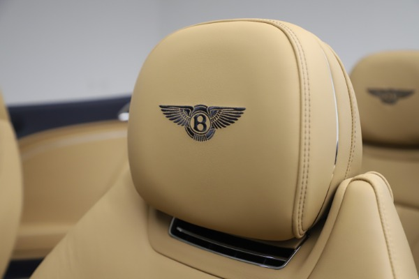 New 2020 Bentley Continental GT Convertible V8 for sale Sold at Alfa Romeo of Greenwich in Greenwich CT 06830 27
