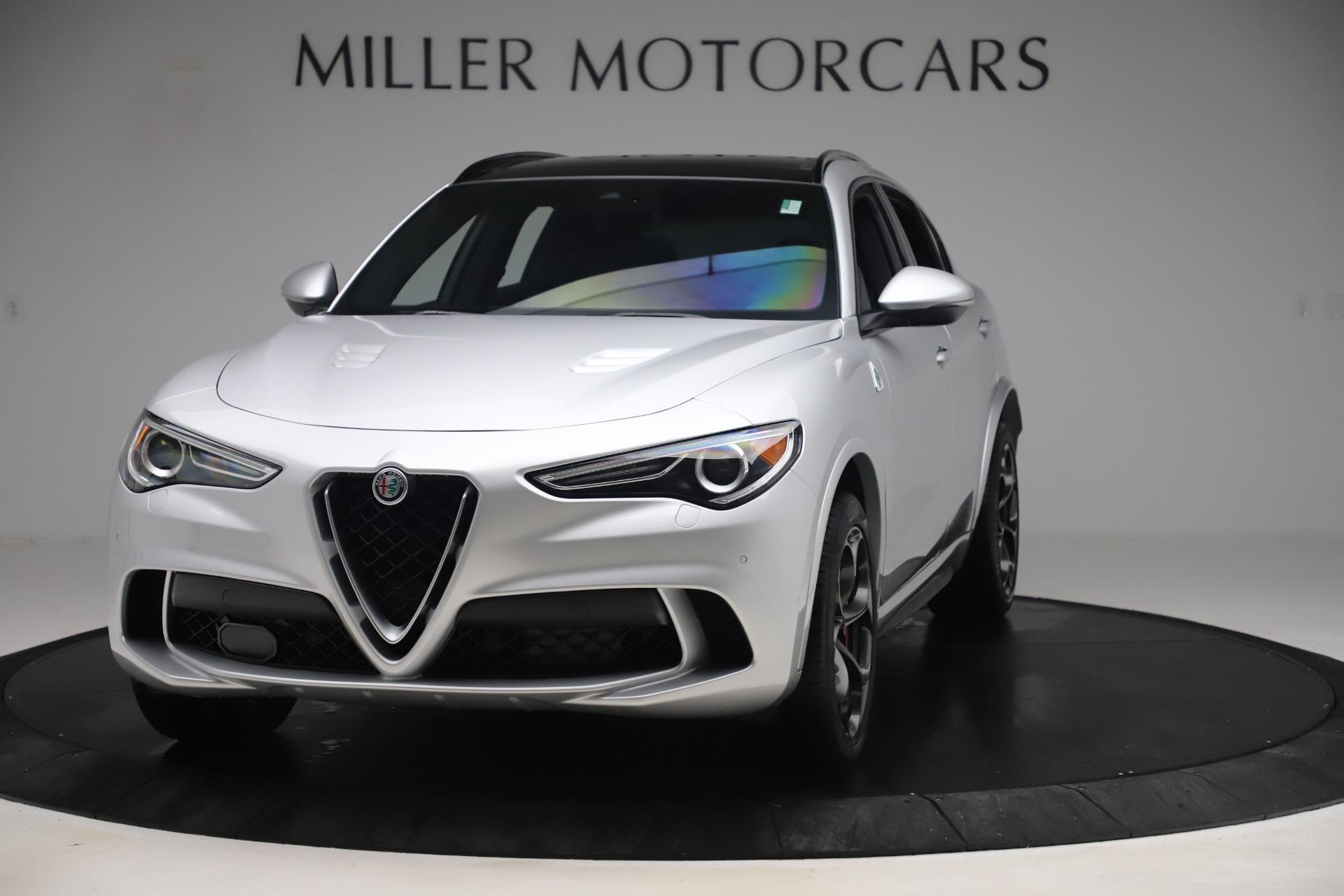 Used 2019 Alfa Romeo Stelvio Quadrifoglio for sale $67,900 at Alfa Romeo of Greenwich in Greenwich CT 06830 1