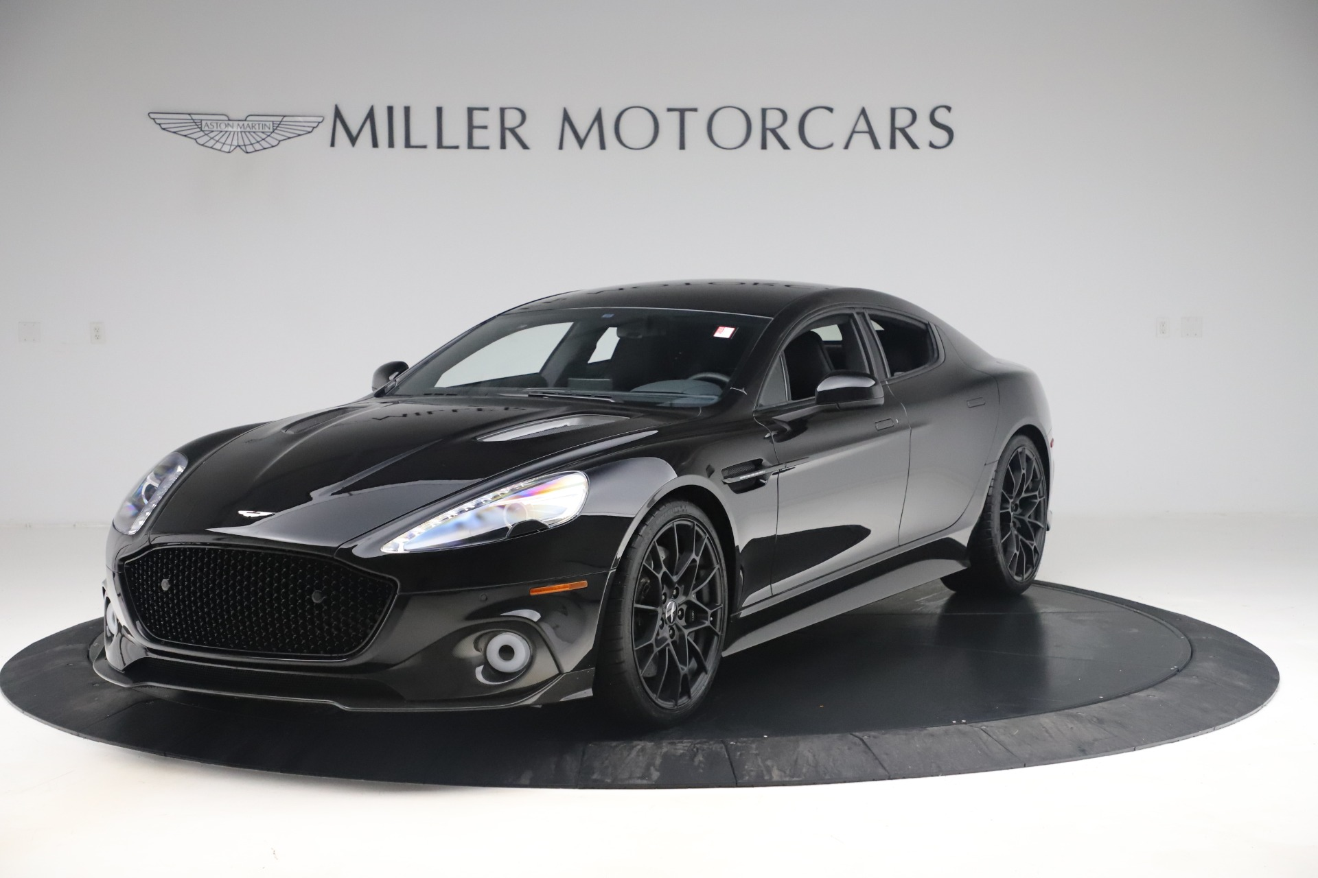 New 2019 Aston Martin Rapide AMR Sedan for sale $257,006 at Alfa Romeo of Greenwich in Greenwich CT 06830 1