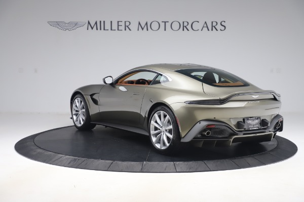 New 2020 Aston Martin Vantage Coupe for sale $180,450 at Alfa Romeo of Greenwich in Greenwich CT 06830 4