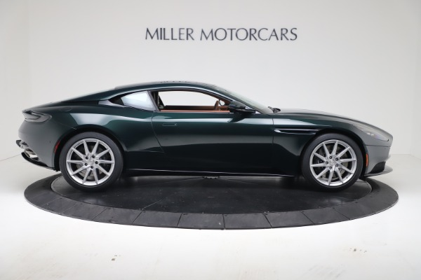 New 2020 Aston Martin DB11 V8 Coupe for sale $254,093 at Alfa Romeo of Greenwich in Greenwich CT 06830 10