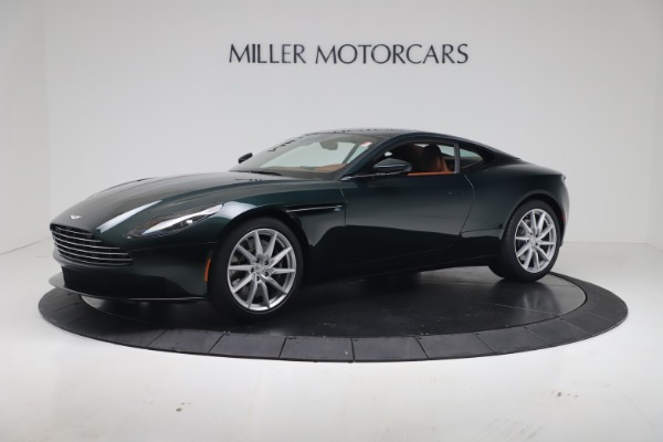 New 2020 Aston Martin DB11 V8 Coupe for sale $254,093 at Alfa Romeo of Greenwich in Greenwich CT 06830 1