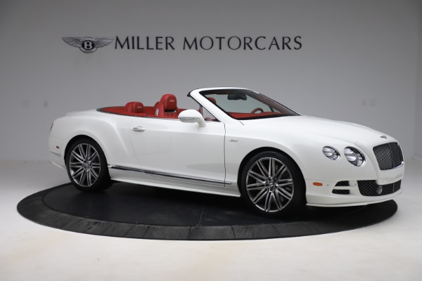 Used 2015 Bentley Continental GTC Speed for sale $129,900 at Alfa Romeo of Greenwich in Greenwich CT 06830 10