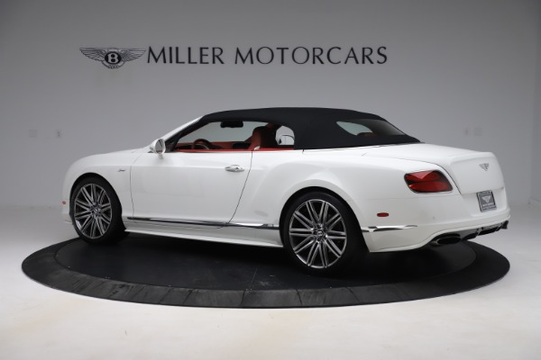 Used 2015 Bentley Continental GTC Speed for sale $129,900 at Alfa Romeo of Greenwich in Greenwich CT 06830 15