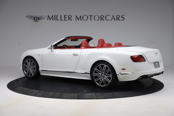 Used 2015 Bentley Continental GTC Speed for sale $129,900 at Alfa Romeo of Greenwich in Greenwich CT 06830 4