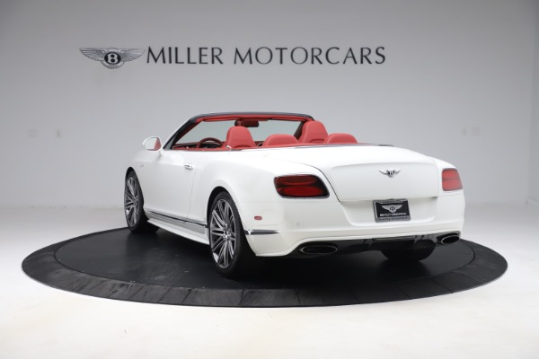 Used 2015 Bentley Continental GTC Speed for sale $129,900 at Alfa Romeo of Greenwich in Greenwich CT 06830 5