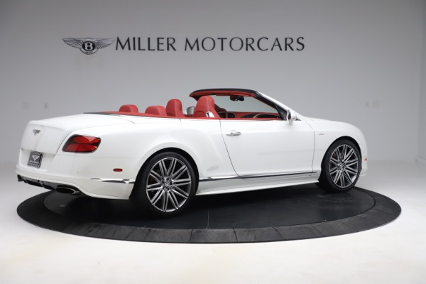Used 2015 Bentley Continental GTC Speed for sale $129,900 at Alfa Romeo of Greenwich in Greenwich CT 06830 8
