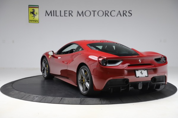 Used 2019 Ferrari 488 GTB for sale Sold at Alfa Romeo of Greenwich in Greenwich CT 06830 5
