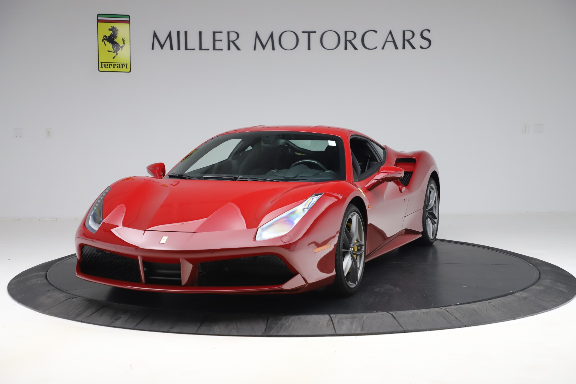 Used 2019 Ferrari 488 GTB for sale Sold at Alfa Romeo of Greenwich in Greenwich CT 06830 1