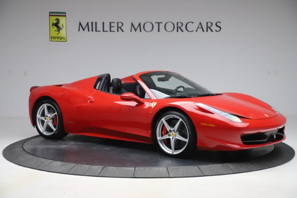 Used 2015 Ferrari 458 Spider for sale $235,900 at Alfa Romeo of Greenwich in Greenwich CT 06830 10