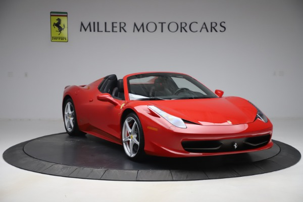 Used 2015 Ferrari 458 Spider for sale $235,900 at Alfa Romeo of Greenwich in Greenwich CT 06830 11