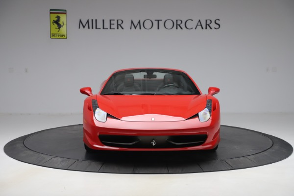 Used 2015 Ferrari 458 Spider for sale $235,900 at Alfa Romeo of Greenwich in Greenwich CT 06830 12