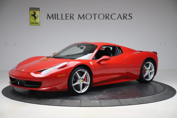Used 2015 Ferrari 458 Spider for sale $235,900 at Alfa Romeo of Greenwich in Greenwich CT 06830 13