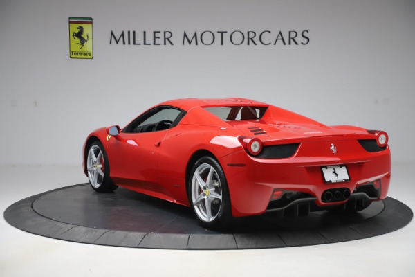 Used 2015 Ferrari 458 Spider for sale $235,900 at Alfa Romeo of Greenwich in Greenwich CT 06830 15