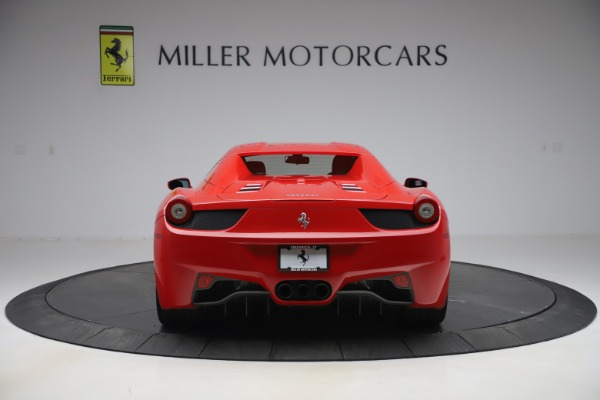 Used 2015 Ferrari 458 Spider for sale $235,900 at Alfa Romeo of Greenwich in Greenwich CT 06830 16