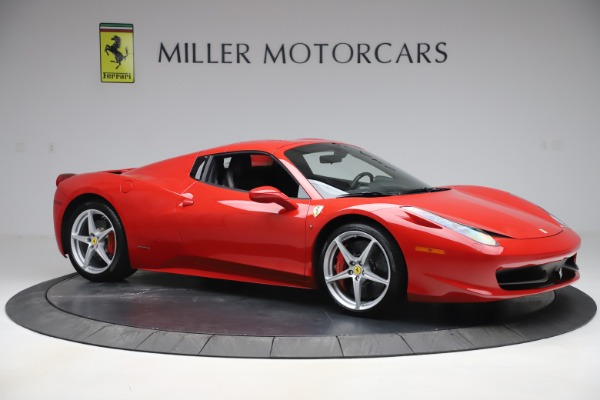 Used 2015 Ferrari 458 Spider for sale $235,900 at Alfa Romeo of Greenwich in Greenwich CT 06830 19