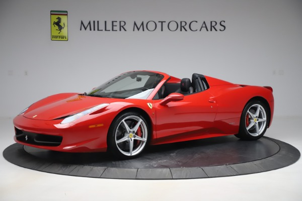 Used 2015 Ferrari 458 Spider for sale $235,900 at Alfa Romeo of Greenwich in Greenwich CT 06830 2