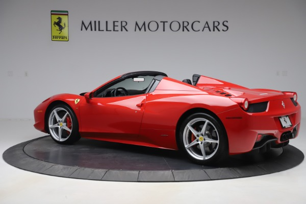 Used 2015 Ferrari 458 Spider for sale $235,900 at Alfa Romeo of Greenwich in Greenwich CT 06830 4