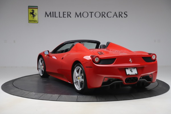 Used 2015 Ferrari 458 Spider for sale $235,900 at Alfa Romeo of Greenwich in Greenwich CT 06830 5