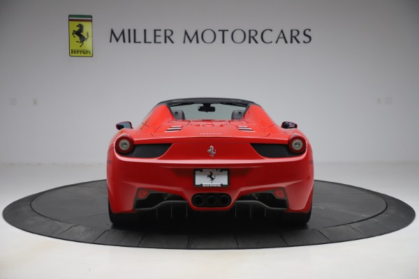 Used 2015 Ferrari 458 Spider for sale $235,900 at Alfa Romeo of Greenwich in Greenwich CT 06830 6