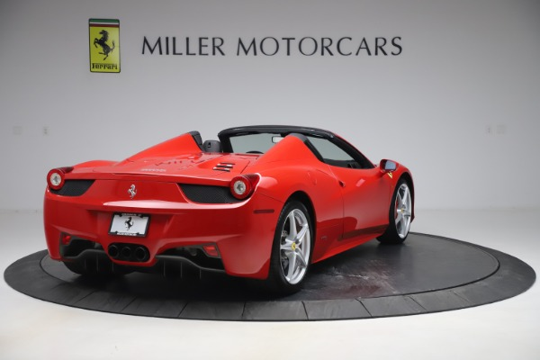 Used 2015 Ferrari 458 Spider for sale $235,900 at Alfa Romeo of Greenwich in Greenwich CT 06830 7