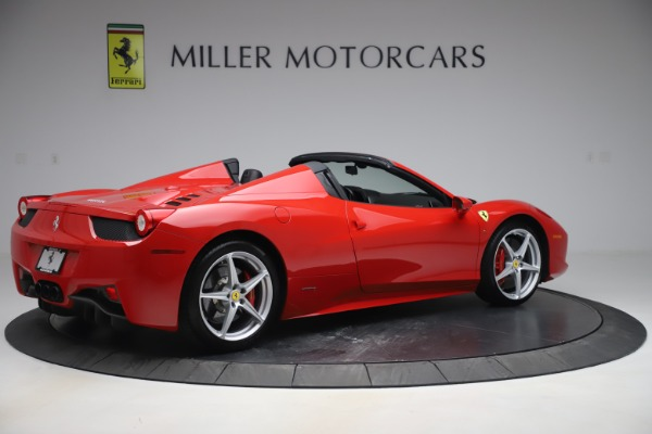 Used 2015 Ferrari 458 Spider for sale $235,900 at Alfa Romeo of Greenwich in Greenwich CT 06830 8