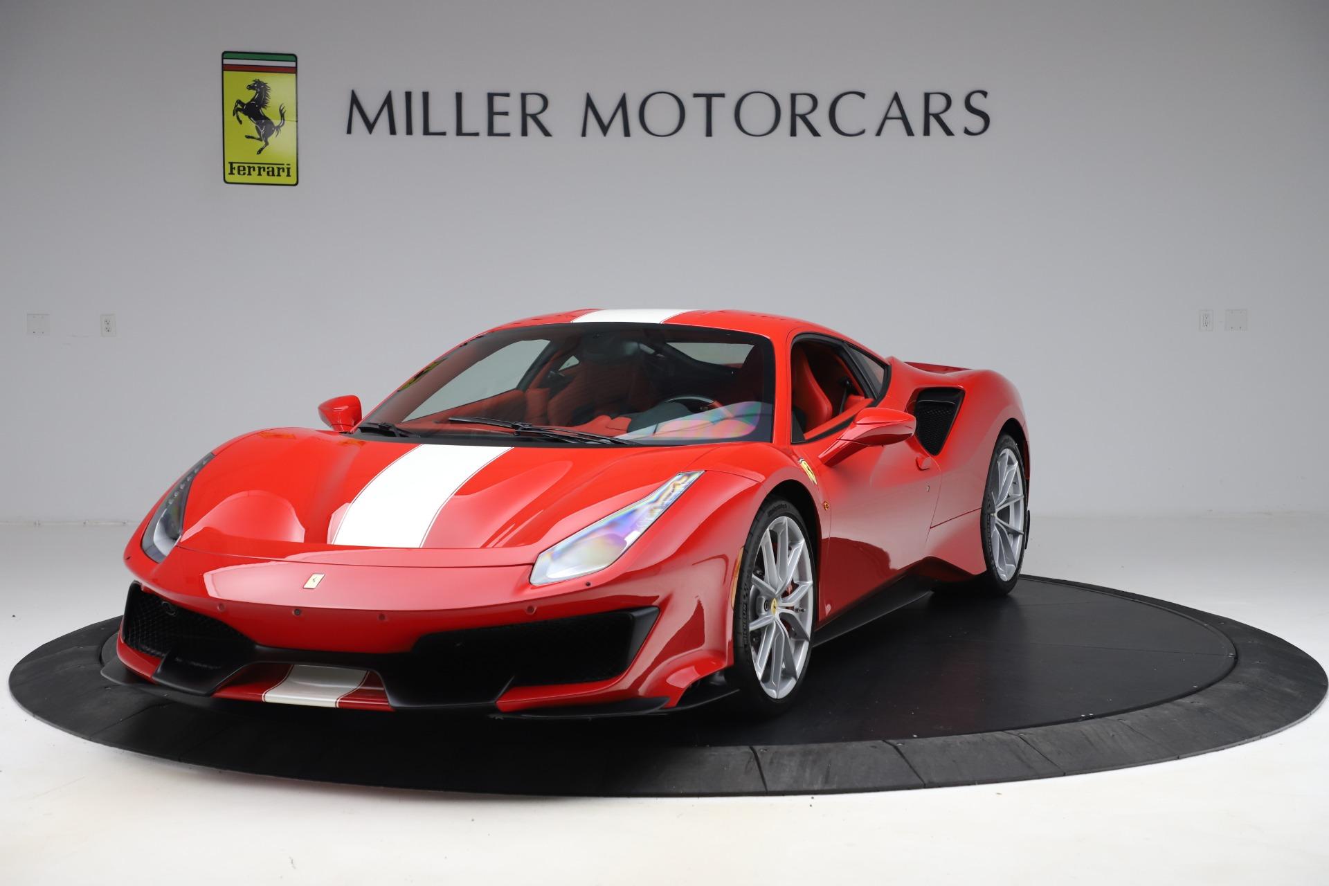 Used 2019 Ferrari 488 Pista for sale Sold at Alfa Romeo of Greenwich in Greenwich CT 06830 1