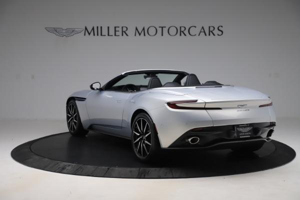 New 2020 Aston Martin DB11 Volante Convertible for sale $240,411 at Alfa Romeo of Greenwich in Greenwich CT 06830 4