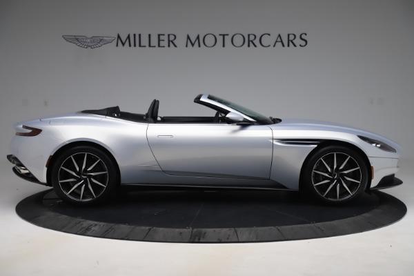 New 2020 Aston Martin DB11 Volante Convertible for sale $240,411 at Alfa Romeo of Greenwich in Greenwich CT 06830 8