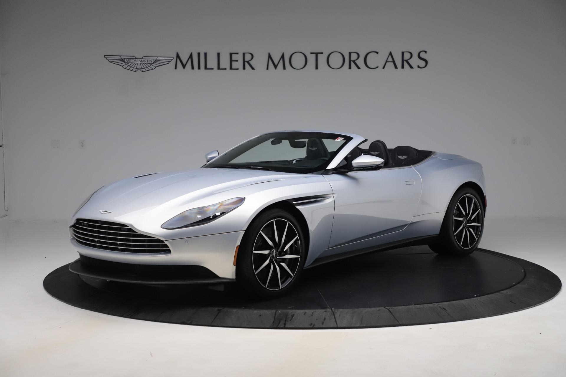 New 2020 Aston Martin DB11 Volante Convertible for sale $240,411 at Alfa Romeo of Greenwich in Greenwich CT 06830 1