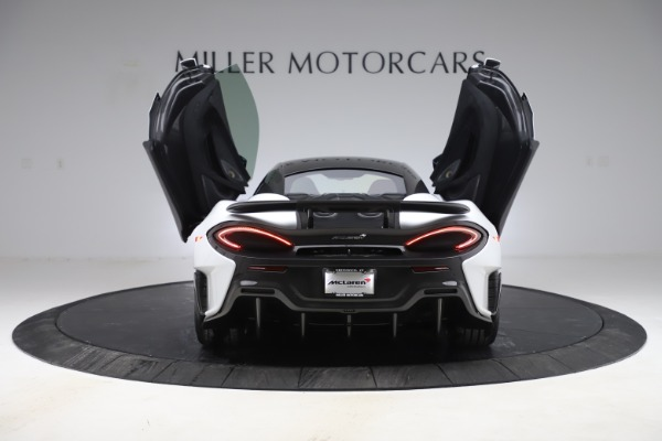 Used 2019 McLaren 600LT Coupe for sale Sold at Alfa Romeo of Greenwich in Greenwich CT 06830 12