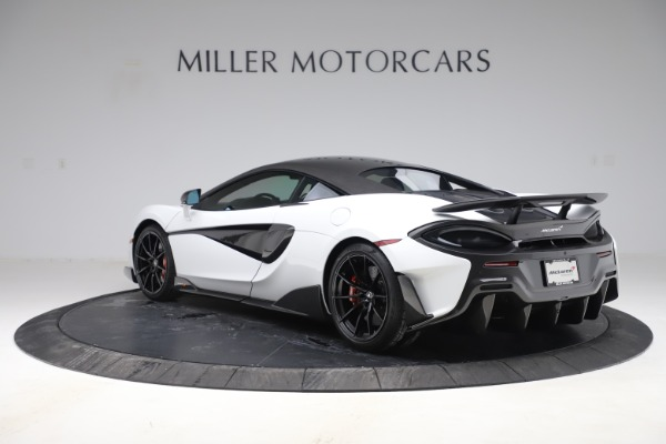 Used 2019 McLaren 600LT Coupe for sale Sold at Alfa Romeo of Greenwich in Greenwich CT 06830 3