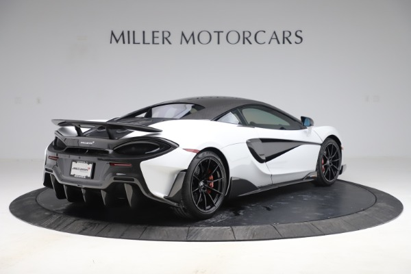 Used 2019 McLaren 600LT Coupe for sale Sold at Alfa Romeo of Greenwich in Greenwich CT 06830 5