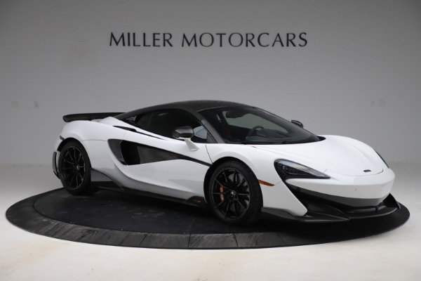 Used 2019 McLaren 600LT Coupe for sale $229,990 at Alfa Romeo of Greenwich in Greenwich CT 06830 7