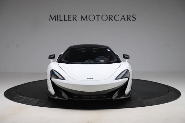 Used 2019 McLaren 600LT Coupe for sale $229,990 at Alfa Romeo of Greenwich in Greenwich CT 06830 8