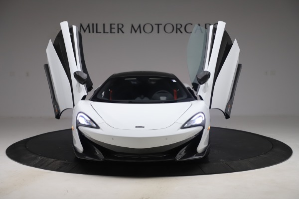 Used 2019 McLaren 600LT Coupe for sale Sold at Alfa Romeo of Greenwich in Greenwich CT 06830 9