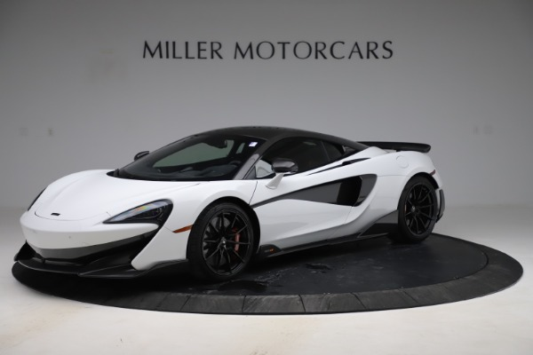 Used 2019 McLaren 600LT Coupe for sale Sold at Alfa Romeo of Greenwich in Greenwich CT 06830 1