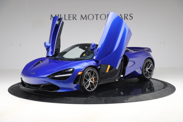 New 2020 McLaren 720S Spider Convertible for sale $364,090 at Alfa Romeo of Greenwich in Greenwich CT 06830 10