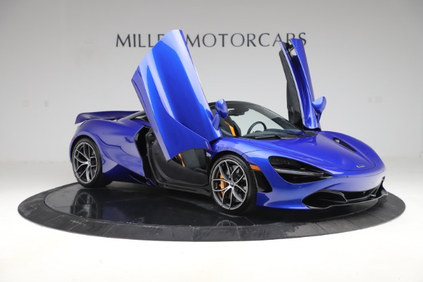 New 2020 McLaren 720S Spider Convertible for sale $364,090 at Alfa Romeo of Greenwich in Greenwich CT 06830 16